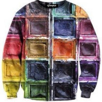 Watercolor Crewneck