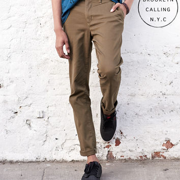 Brooklyn Calling Color Skinny Chino