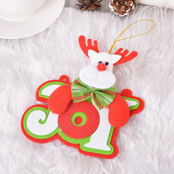 2017 Year Hanging pendants Christmas Tree 1PC 15cm