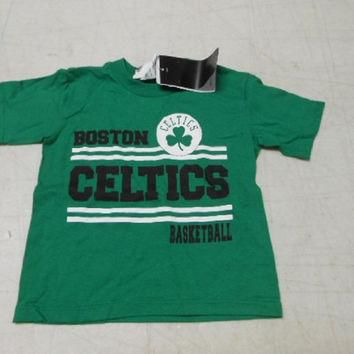 Adidas Toddler Boys' Boston Celtics T-Shirt, Green, 2T