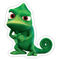 Tangled Pascal sticker and much more by AdamGrimaldi