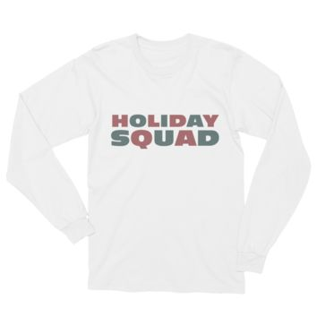 Holiday Squad Unisex Long Sleeve T-Shirt