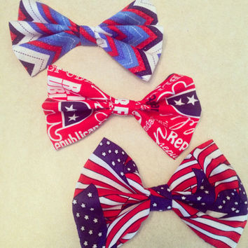4th Of July Bows - PICK 1
