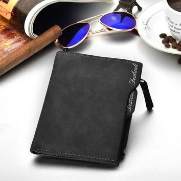 PU Leather Wallet (with removable card slots)