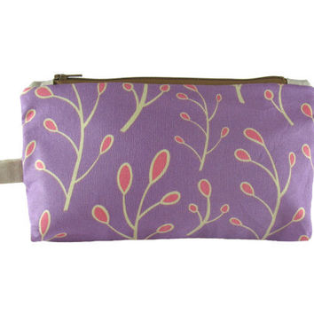 Purple, Coral, Neutral Clutch
