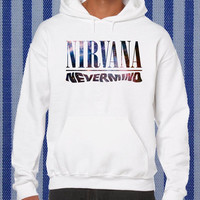 nirvana nevermind galaxy Hoodie unisex adults Size S to 2XL