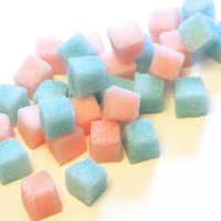 Pink & Blue Sugar Cubes for Baby Shower, Tea Parties, Gender Reveal Party, Champagne Toasts, Weddings, Favors, Coffee, Showers, Tea