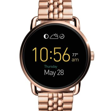 Fossil Q Wander Touchscreen Bracelet Smart Watch | Dillards