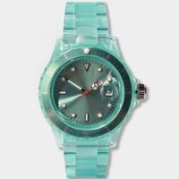 Translucent Plastic Watch