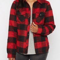 Buffalo Plaid Wool Jacket | Anorak & Twill Jackets | rue21