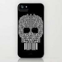 Code Skull iPhone & iPod Case by Halfmoon Industries