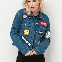 Make A Patch Denim Jacket