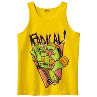 Men's Teenage Mutant Ninja Turtle Tank - Radical Yellow