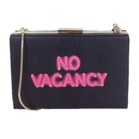 No Vacancy Neon Clutch by Kate Spade