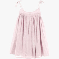 Tocoto Vintage Girls Tie Dress in Pink  - S03615 - FINAL SALE
