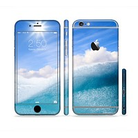 The Sunny Day Waves Sectioned Skin Series for the Apple iPhone 6