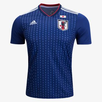 KUYOU Japan 2018 World Cup Home Men Soccer Jersey Personalized Name and Number