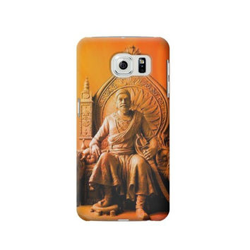 P1104 Shivaji Maharaj Comes Marathas Case Cover For Samsung Galaxy S6