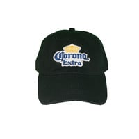 Vintage Culture Corona Extra Patched Dad Hat In Black