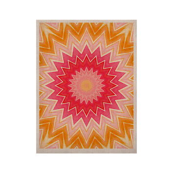 "Iris Lehnhardt ""You are my Sunshine"" Pink Orange KESS Naturals Canvas (Frame not Included)"