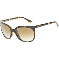 Ray-Ban Cats 1000 Sunglasses - Women's Lt Havana/GRD Brown-BL Anti, One