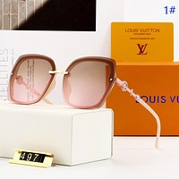 LV New fashion polarized travel sun protection glasses eyeglasses women 1#