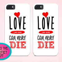iphone 6 plus case, iphone cases for couples, couple gift, anniversary gift, love gift, boyfriend gift, girlfriend gift, love iphone case