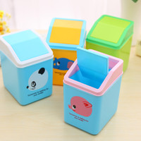 Creative Mini Animal Storage Plastic Home Storage Bin = 4877818756