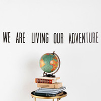 Urban Outfitters - We Are Living Wall Decal