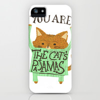 The Cat's Pajamas iPhone & iPod Case by LookHUMAN