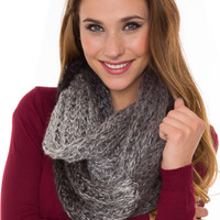 Graycen Infinity Scarf - Black - One Size / Black