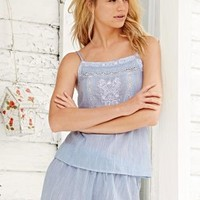 Buy Blue Embroidered Shorts Set online today at Next: United States of America