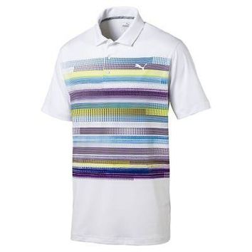 Licensed Golf New 2017 Puma  Pixel Mens Polo 573273
