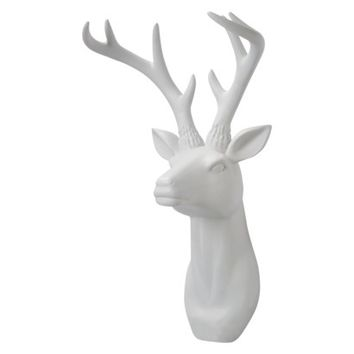 Threshold™ Decorative Stag Head Wall Sculpture - 18""