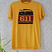 Vintage 1970s American Icon + 611 Train Tee