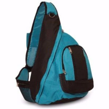 Everest Sling Body Bag Backpack Turquoise