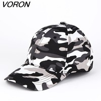 Trendy Winter Jacket VORON 2017  Brand Fitted Hat Baseball Cap Casual Army Camouflage Outdoor Sports Snapback Gorras Polo Hats For Men women AT_92_12
