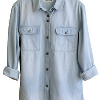 Boyfriend Denim Shirt