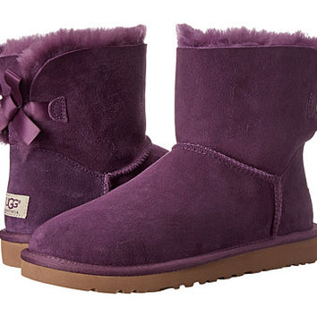 UGG Mini Bailey Bow Anemone Twinface - Zappos.com Free Shipping BOTH Ways