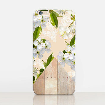Boho Floral Phone Case  - iPhone 6 Case - iPhone 5 Case - iPhone 4 Case - Samsung S4 Case - iPhone 5C - Tough Case - Matte Case