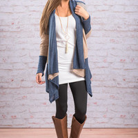 Keep Your Eyes On Me Cardigan, Navy