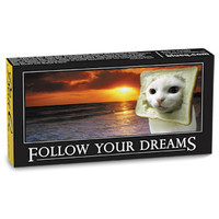 FOLLOW YOUR DREAMS GUM