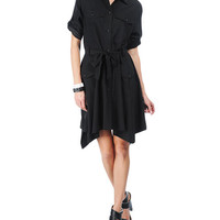 Rag & Bone - Miller Shirt Dress, Black