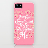 Respect Me iPhone & iPod Case by LookHUMAN