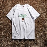 Cheap Women's and men's supreme t shirt for sale 85902898_0124