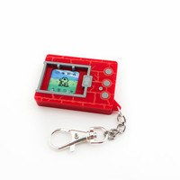 Digimon Virtual Pet Lasercut Keychain - Version 1