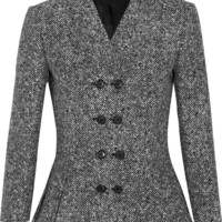 Michael Kors Collection - Wool-tweed peplum jacket