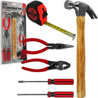 Stalwart  6 Piece Household - College Dorm Tool Set