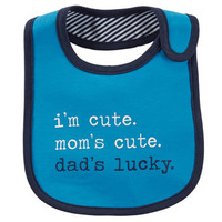 Dad's Lucky Teething Bib