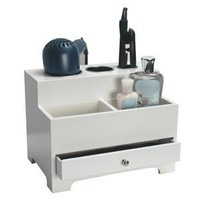 Personal Hair Styling Storage Chest - White